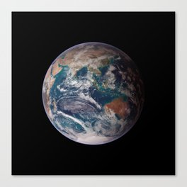 The Blue Marble Eastern Hemisphere - Earth From Space Canvas Print