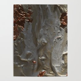 Copper and Pearls Poster
