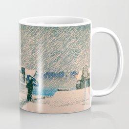 SNOW TSUKISHIMA - Kawase Hasui Coffee Mug