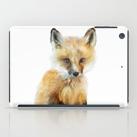 quotes iPad Cases featuring Little Fox by Amy Hamilton