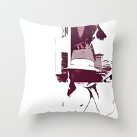holiday Throw Pillows featuring Holiday by Paola Rassu