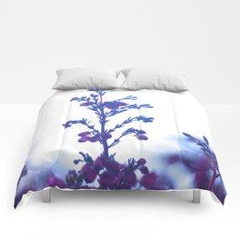 Heather flower #1 #decor #art #society6 Comforters