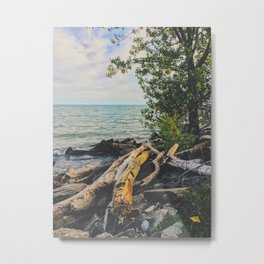 Summer beach Metal Print