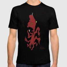 Fancy Monsters are Fancy! Mens Fitted Tee Black MEDIUM