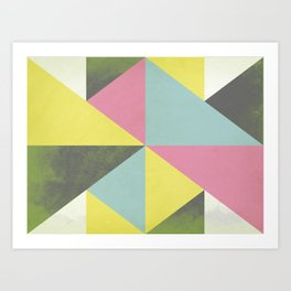 What's Your Angle Art Print