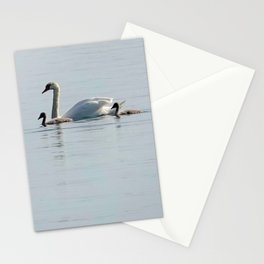 Swan family Stationery Cards