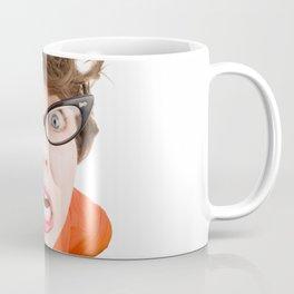 Stressed Out Fisheye Geek Coffee Mug