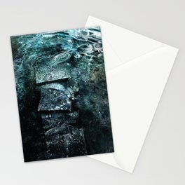 Cold waters Stationery Cards
