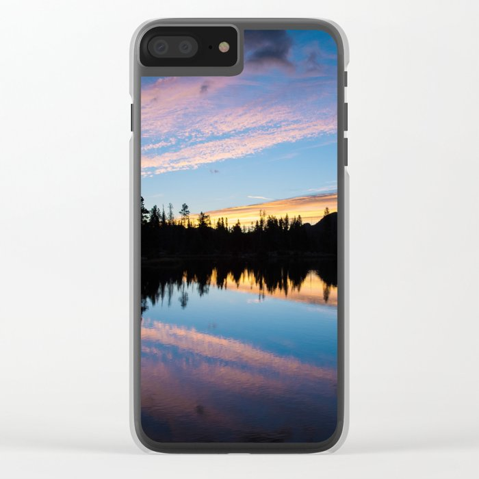 Evening Clear iPhone Case