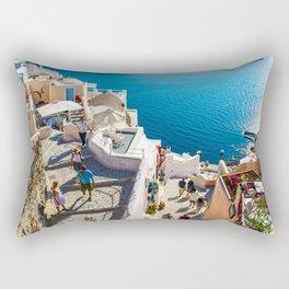 Oia,Santorini Rectangular Pillow