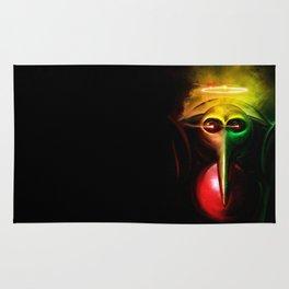 Sachiel the Risen. 3rd Angel of Evangelion Digital Painting Rug