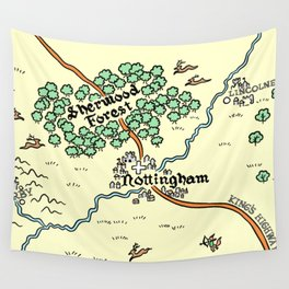 Sherwood Forest Wall Tapestry
