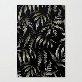 Brooklyn Forest - Black Canvas Print