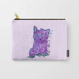 Glitchy Kitty Carry-All Pouch