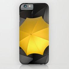 Black Umbrellas Slim Case iPhone 6s