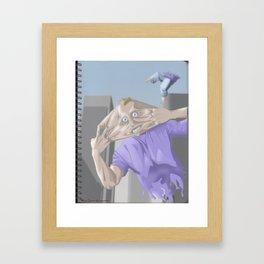 Stress! Framed Art Print