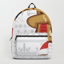 Christmas Gingerman Backpack