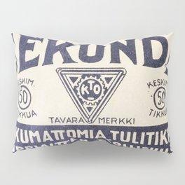 Old Matchbox label #1 Pillow Sham