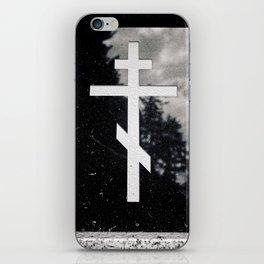 Orthodox headstone iPhone Skin