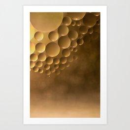 Many moons. Art Print