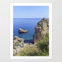 Zarbo de Mare, Sicily Art Print