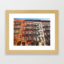 NYC - Hell's Kitchen Framed Art Print