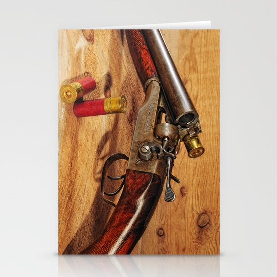 Old Double Barrel Stevens Stationery Cards