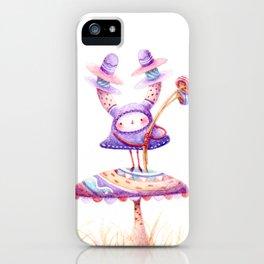 In The Land Of Magic Mushrooms iPhone Case