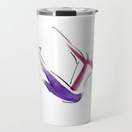 Pilates Teaser with Magic Circle Travel Mug