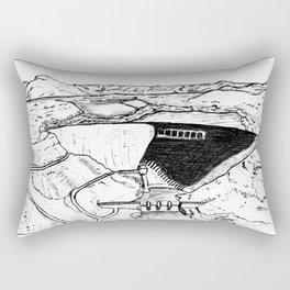 Human Landscape/Paysage Humain Rectangular Pillow