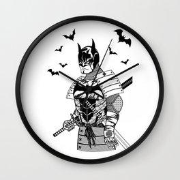 Dark Shogun Wall Clock