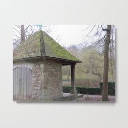 English Shack Metal Print
