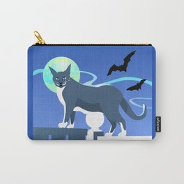 Jack Cat Goes Gothic Carry-All Pouch