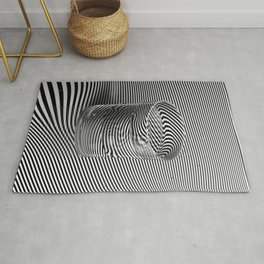 Water glass Rug