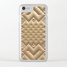 Golden Clear iPhone Case