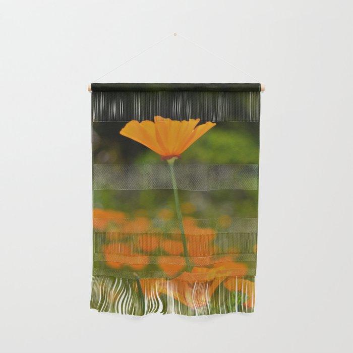 Tall Poppy Wall Hanging
