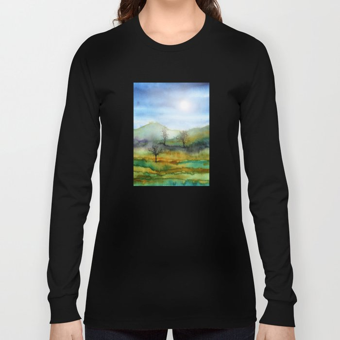 Christmas In The Woods Long Sleeve T-shirt
