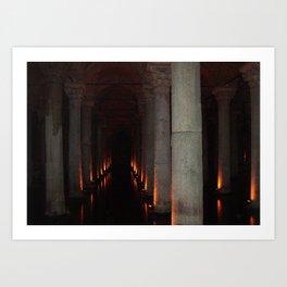 Hallway to Hell Art Print