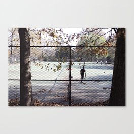 Meet You At The Courts Canvas Print