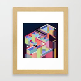 Maskine 14 Framed Art Print