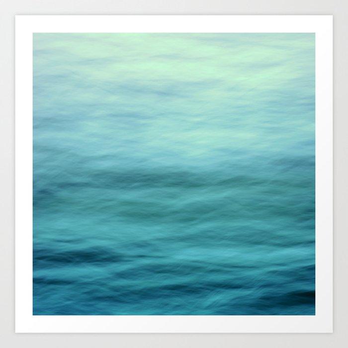 Ocean Blues Kunstdrucke