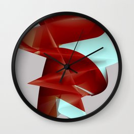 Abstract Shape. Minimalism. #2 Wall Clock