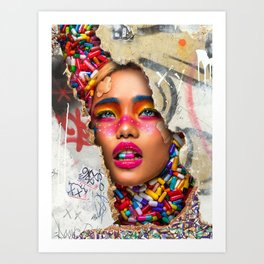 Save Yourself from the Pop Art Movement Art Print