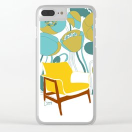 The yellow chair Clear iPhone Case