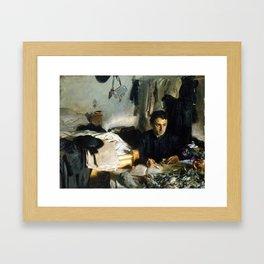 John Singer Sargent Padre Sebastiano Framed Art Print