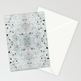 white&black marble mix Stationery Cards