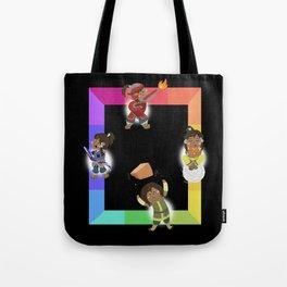 Chibi Rainbow Korra Tote Bag