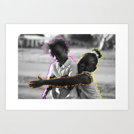 Young & Happy Art Print