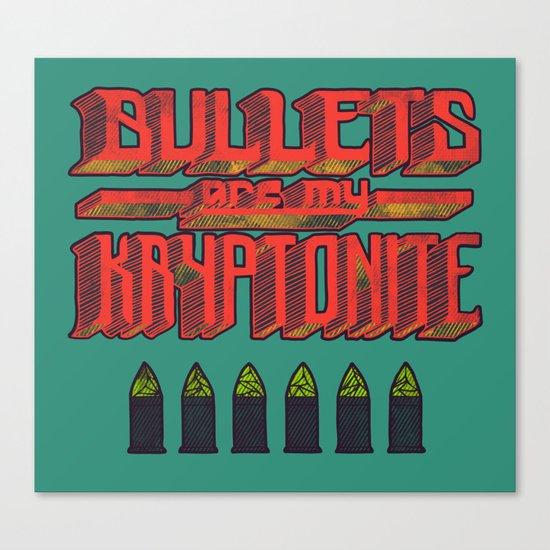 Kryptonite (alternate) Canvas Print