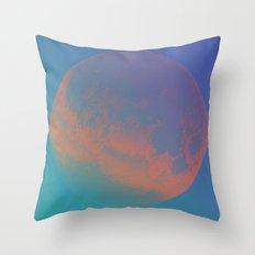 Blood Moon II  Throw Pillow